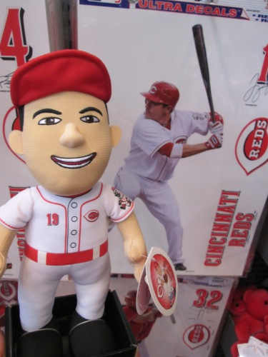 I really wanted to purchase this baby Joey Votto plush, but I couldn't justify spending $25