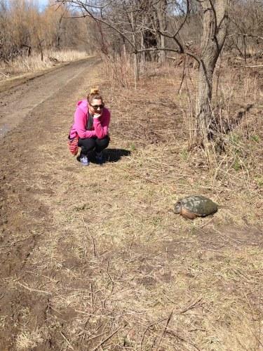 a hike helped me make a new friend