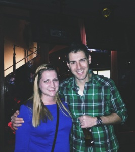Survivor: Amazon's Rob Cesternino and myself!