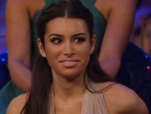 Ashley Iaconetti on the women tell all episode of the bachelor
