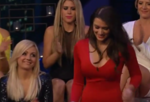 Jade Roper at the women tell all episode of the bachelor