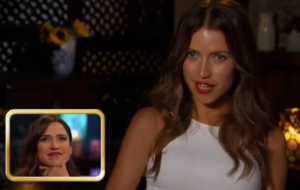 Kaitlyn Bristowe at the Women tell all episode of the bachelor