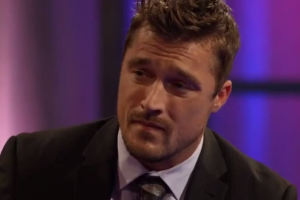 Chris soules at the women tell all episode of the bachelor