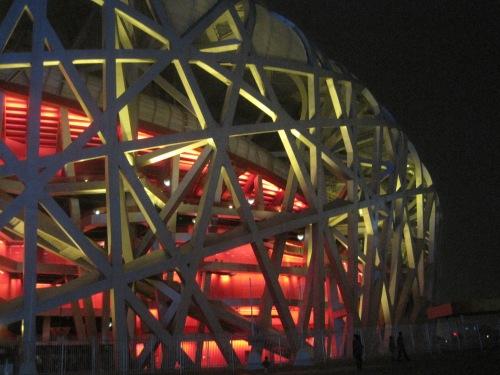The Bird's Nest Olympic Stadium